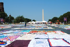 AIDS quilt (ekelly80) Tags: summer festival mall washingtondc smithsonian dc aids quilt aidsquilt washingtonmonument smithsonianfolklifefestival folklifefestival welovedc july2012