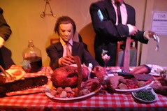 The 'Last' Supper at the Criminals Hall of Fame Wax Museum in Niagara Falls (Criminals Hall of Fame) Tags: museum niagarafalls hill victoria niagara falls entertainment wax waxmuseum killers avenue figures clifton attraction serial attractions criminals murderers