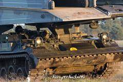 Danish army exercise anno 2012 (Roa Production) Tags: tank blu vehicles production armour gd forsvaret tanks 2012 panzer m109 velse roa armoured panser hren ikk hjemmevrnet hjv smokegranade kirg
