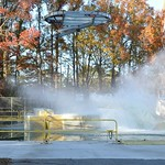 Orion Drop Test - Splash