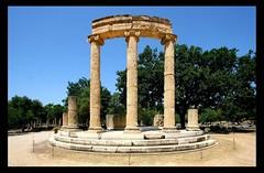 Philippion [- 338]- Olympie (RUAMPS ) Tags: unesco greece grecia olympia griechenland grece    hells photographiedarchitecture ruamps  laurentdruamps ruampslaurent