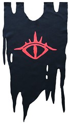 Estandarte ojo sauron (Lady Krizia) Tags: ojo banner lordoftherings tolkien estandarte sauron wilwarin