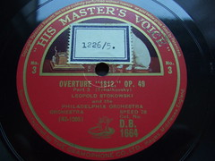 """Tchaikovsky - Overture """"1812"""" op.49 Part 3 - Philharmonia Orch., Leopold Stokowski, HMV D.B. 1664, 42-1205, Speed 78t Shellac Bakeliet (Piano Piano!) Tags: art speed vintage album vinyl collection cover lp record shellac disc platte sleeve 30s hoes gramophone disque 40s50s bakeliet grammofoonplaat leopoldstokowski langspeelplaat 78t langspielplatte schellak 421205 speed78tshellacbakeliet tchaikovskyoverture1812op49part3philharmoniaorch hmvdb1664 bakeliteschellakshellacvintagegramophonerecordplattelabel20s"""
