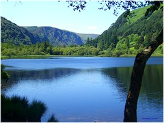 Glendalough Lower Lake (B..........) Tags: ireland sky lake history nature landscape hall flickr top ngc lakes fame glendalough galaxy 20 wicklow the roundtower mycontacts monasticsite mostvisited thegalaxy top20ireland wicklowmountainsnationalpark glendaloughvalley skycloudjunkies damniwishidtakenthat naturescarousel thegalaxyhalloffame bestofblinkwinners blinksuperstars thesunshinegroup sunrays5