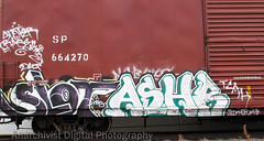 07252012 02 (Anarchivist Digital Photography) Tags: graffiti murals trains denver slot ashr