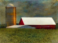 Rooftops (DaraDPhotography) Tags: nature barn rural buildings view silo textures legacy textured motat cityart trolled awardtree tatot magicunicornverybest lenabemannatextures wwwdaradphotographycom frenchkisstableaux