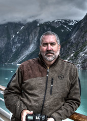 Me, in Tracy Arm Fjord with a little HDR