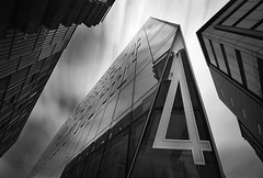 4 Play....... (Digital Diary........) Tags: longexposure blackandwhite bw architecture buildings movement le weldingglass