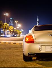 BENTLEY CONTINENTAL SUPERSPORTS (Mosab AlSobhi) Tags: light beach skyline continental saudi 1855mm jeddah alpha saudiarabia bentley ksa supersports      mosab    sonya55macrolens90mm