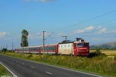 IR 1646 Kksnl szguld (bel Biszak) Tags: gara tren romania cfr train electrica gfr marfar freight coach vagon passanger 2055 2054 2147 te rama ea craiova electric zug bahnhof