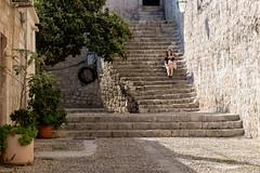 Dubrovnik (Ulrich J) Tags: trappe dubrovnik byrum mennesker kroatien street cityscape croatia