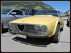 Alfa Romeo Junior Z GT 1300 (v8dub) Tags: alfa romeo junior z gt 1300 schweiz suisse switzerland italian pkw voiture car wagen worldcars auto automobile automotive scarce rare old oldtimer oldcar klassik classic collector