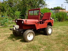 Jeep Willis - CJ (fred.rs4) Tags: automobile auto car jeep willys m38 m38a1 army mower tondeuse grass herbe france cours les barres porsche ferrari lamborghini veyron rs8 rs4 camaro corvette mustang m3 m7 dd dday orverlord overland utah nievre cher nevers v8 eight usmc 101 gmc dodge pachard harley hurley paris french jardin campagne fruit lgume vegetable peinture rouille red rouge peindre