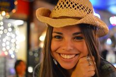 A returning smile (radargeek) Tags: amarillo thebigtexan tx texas portrait cowboyhat