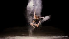 alice (alan.velain) Tags: 20160525 abandonn alice cheveuxlong danceuse farine hangard jolie sexy danseuse poussire deuxpices canon 6d alanphotographiecom alanvelain