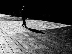 lights and darks (Dan-Schneider) Tags: streetphotography street shadow schwarzweiss silhouette blackandwhite bw urban human hamburg light olympus omdem10 monochrome mood