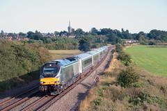 68010 Kings Sutton (Steveo46240) Tags: 68 68010 chiltern passenger kingssutton londonmarylebone kidderminster
