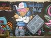 Paddy : spécial dédicace Jean Cost (2016) (Archi & Philou) Tags: paddy dédicace jeancost graffiti paris11 murpeint paintedwall streetart radio casquette personnage