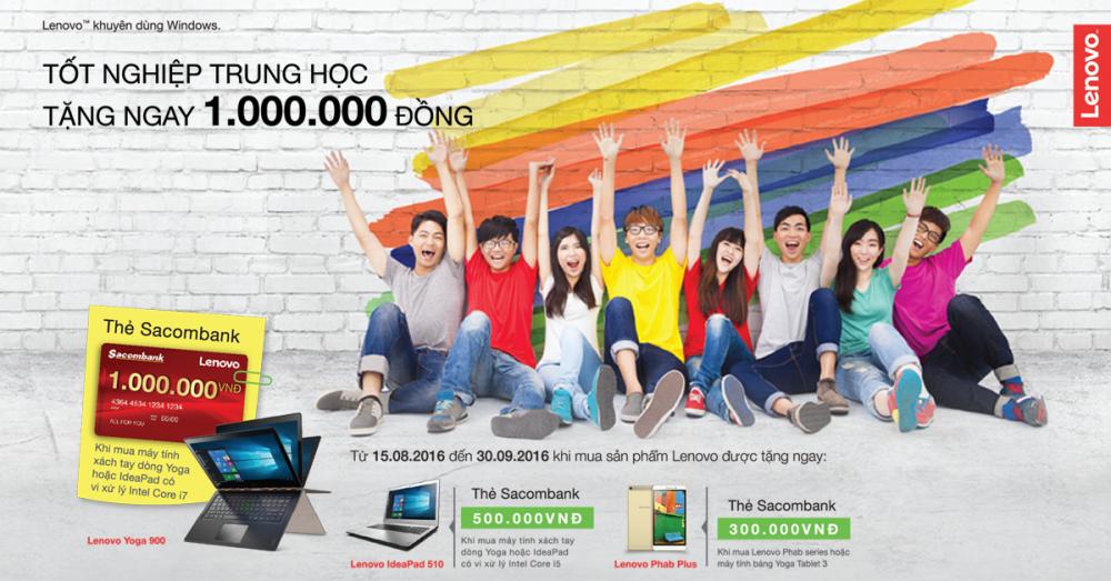 Back To School Lenovo - Nhận tiền mặt một triệu đồng