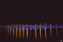 YUP-1396 (YUP! studio) Tags: photo photography studio yup yup4u long exposure vietnam bridge sea night nightscape sony southasia sonyflickraward asia black background river