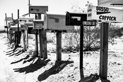 America (mripp) Tags: usa amerika america post box briefkasten communication black white tool landscape landschaft art kunst fuji xpro2 mono monochrom