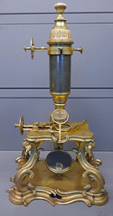 Compound microscope, 1751 (Monceau) Tags: musedesartsetmtiers compound microscope 1751