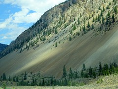 Scree (Chancelrie) Tags: mountain outdoor scree slope desert
