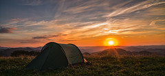 One nice place - sunset camping. (TM Photography Vision) Tags: sunset sony alpha 850 a850 minolta sigma 2470 28 ex dg dordogne