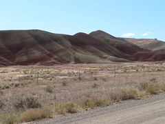 042-15 2007 USA Tour, Oregon, John Day Fossil Beds, Painted Hills Unit (Aristotle13) Tags: 2007 usa tour oregon paintedhills