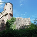 Back side of the castle Schadeck