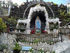 Lourdes Grotto - Baguio (lukedrich_photography) Tags: sony dscw55 sonydscw55 hdr philipines   pilipinas     republikangpilipinas republicofthephilippines asia southeast southeastasia pacific island baguio lourdesgrotto lourdes grotto catholic shrine religion religious christian virginmary mary meditation pilgrimage art design altar statue holy