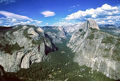 Yosemite Valley and Tenaya Canyon (jason.tiffin) Tags: yosemitenationalpark tenayacanyon yosemitevalley california halfdome mountains nature outdoor valley