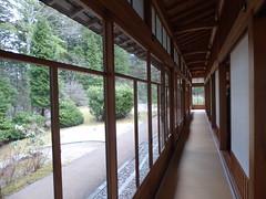 Verandah corridor (seikinsou) Tags: japan nikko spring tamozawa emperor villa residence palace museum verandah corridor window garden view