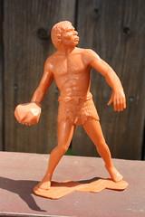 "6"" Caveman (Marx 1963) (Donald Deveau) Tags: caveman marx toys vintagetoy prehistoric plastictoy"