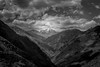 An array of mountains (Samarth Mediratta) Tags: ifttt 500px spiti valley lahaul mountains himalayas black white monotone snow huge landscape clouds sky