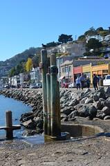 Sausalito Waterfront (Neal D) Tags: california sausalito waterfront street pilings yeetockcheepark