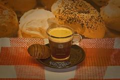Coffee (Leifskandsen) Tags: camera red urban food sexy coffee norway fruit breakfast canon table living drink sweet chocolate sugar eat bagels leifskandsen skandsenimages