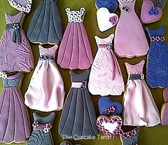 27 DRESSES! (The Cupcake Tarts (previously Tutta Bella)) Tags: pink flowers cookies glitter hearts southafrica bows westerncape somersetwest vintagedresses darkgrey aubegine thecupcaketarts