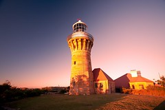 Barrenjoey Lighthouse (damien.lee) Tags: pink lighthouse sunrise landscape golden palmbeach barrenjoey