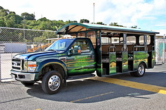 What Mel is Doing Now (robtm2010) Tags: ford truck taxi vehicle stthomas virginislands melbrooks f550 tourbus alltypesoftransport melbrooktours