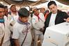 Presentación de la urna electrónica en Tatei Kie