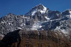 Scary Wall and giant Icefall ! (Lopamudra !) Tags: india mountain snow ice beauty wall trek landscape glacier himalaya highaltitude icefall garhwal lopamudra ronti dudhkund saptkund saptakund dudhikund