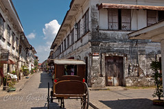 Calle Crisogo (diamonddust13) Tags: travel house heritage carriage philippines unesco cobblestone spanish era vigan ilocos