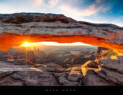 Mesa Arch sunrise (Beboy_photographies) Tags: sunrise canon de soleil arch mark iii canyon 5d hdr mesa lever arche mesaarch canyonland photographies markiii beboy 5dmarkiii