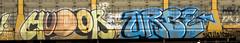 Humor Urbe (NoMasters) Tags: train graffiti pieces graf trains freighttrains wyoming graff piece freight cheyenne 2012 wy freighttrain freights wyo benching