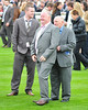 Michael Owen with Wayne Rooney's father and brother Ladies Day at Chester Racecourse Cheshire, England