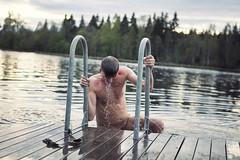 Dallven, Karlbo (swejens) Tags: nude freezing nsfw bathing dalarna dallven bada avesta naket nakenbad kallt winterbathing karlbo