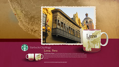 Starbucks City Mug Lima Desktop Wallpaper (Magic Ketchup) Tags: peru lima starbucks mug desktopwallpaper citymugs 2008series