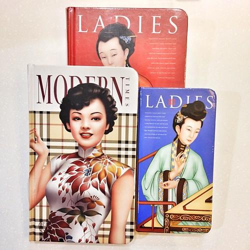 Chinese ladies notebooks