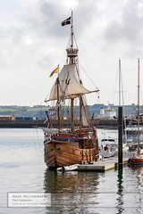 The Matthew (doublejeopardy) Tags: boat cornwall matthew falmouth cabot